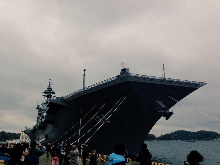 護衛艦「いずも」Izumo-class helicopter destroyer