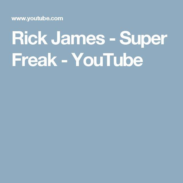Rick James - Super Freak - YouTube
