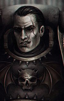 Jago Sevatarion, Sevatar, Prince of Crows, Captain of the Atramentar, 1st Captain of the Night Lords Chapter #warhammer warhammer40k #wh40k