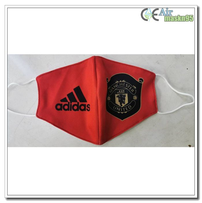 H1n1 Manchester United Face Mask For Football Protection Halbmaske In 2020 Manchester United The Unit Face Mask