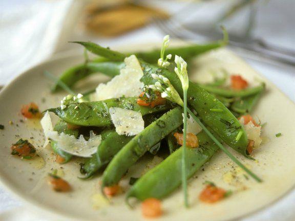 Rezept: Grüne Bohnen mit Parmesan