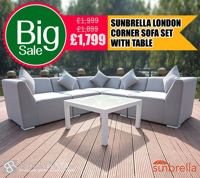 Hottest Christmas Deal !! Hurry UP Sunbrella London Corner Sofa Set with Table + Free Delivery Buy Now: https://www.sunbrellafabricfurniture.co.uk/product-page/sunbrella-london-corner-sofa-set-with-table #Furniture #Sunbrella #Fabricfurniture #Sofaset #Christmas #Sale #Essex #UK