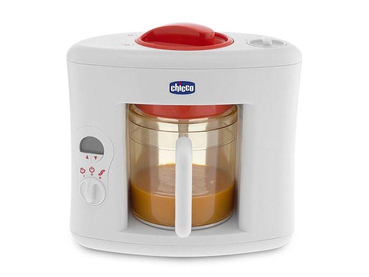 La mamma ha cucinato con il Cuocipappa Sanovapore di Chicco. ECCOLO QUI:http://ndgz.it/cuocipappa-sanovapore-chicco Il robot che Cuoce a vapore, omogeneizza, frulla e trita, riscalda, scongela e prepara i pasti per i bambini conservando le sostanze nutritive degli alimenti. E con i vasetti in dotazione, la mamma prepara la pappa in anticipo e, quando ne ha bisogno, è pronta per l'uso. Fuuuurba! Ora in OFFERTA - RISPARMI 40 EURO!