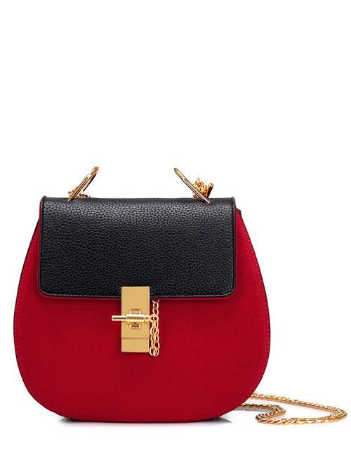 Preppy style mini fashion western chains shoulder bags BG-3027