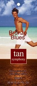 Гель-активатор загара с эффектом лифтинга Bronze Blues 3-я фаза, 20 саше по 20 мл, Tan Symphony