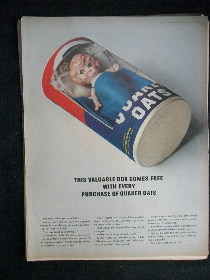 quaker up ad Should you eat uncooked quaker oats update cancel  switch and save up to $200/month/user get quote at oomacom you dismissed this ad.