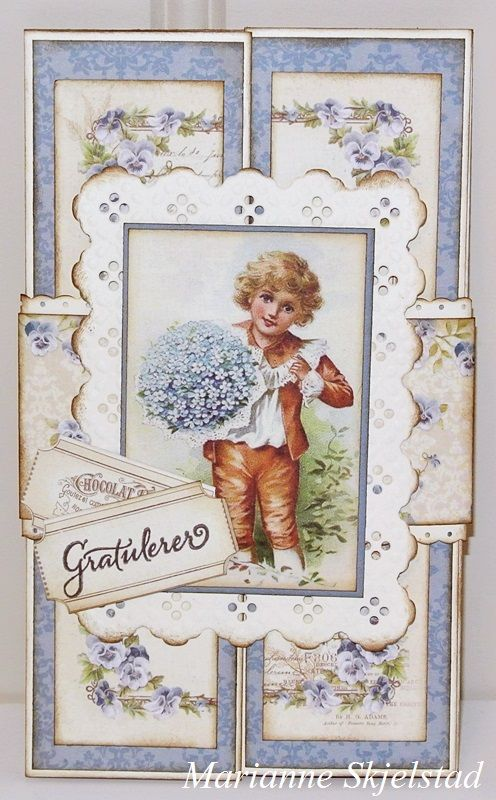 A beautiful card by Marianne, featuring the My Beloved Son collection