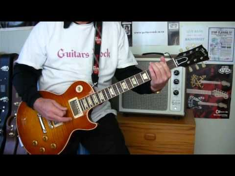 how to play more than a feeling on electric guitar