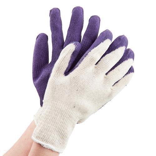 Latex Garden Gloves | Poundland