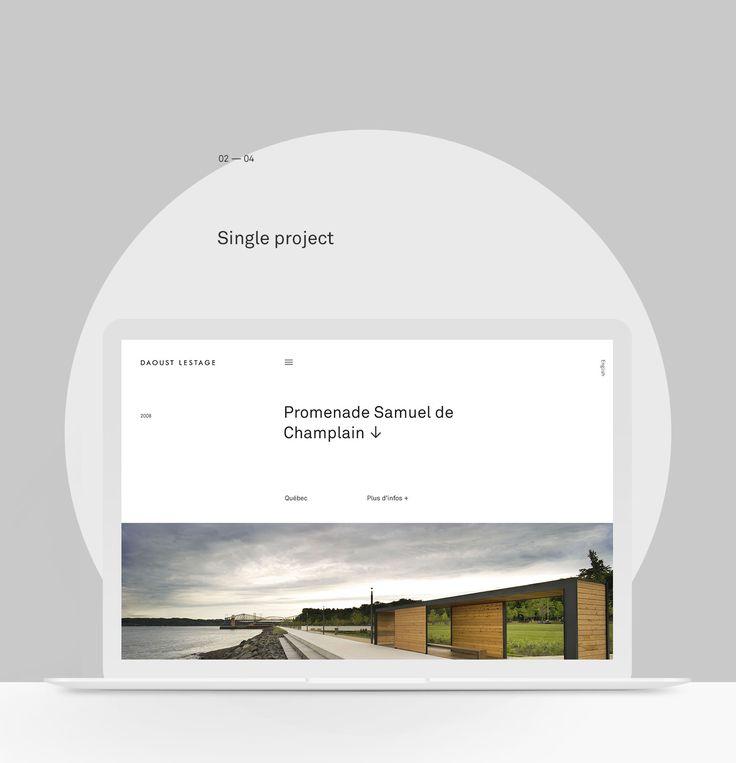 Daoust Lestage Website on Behance