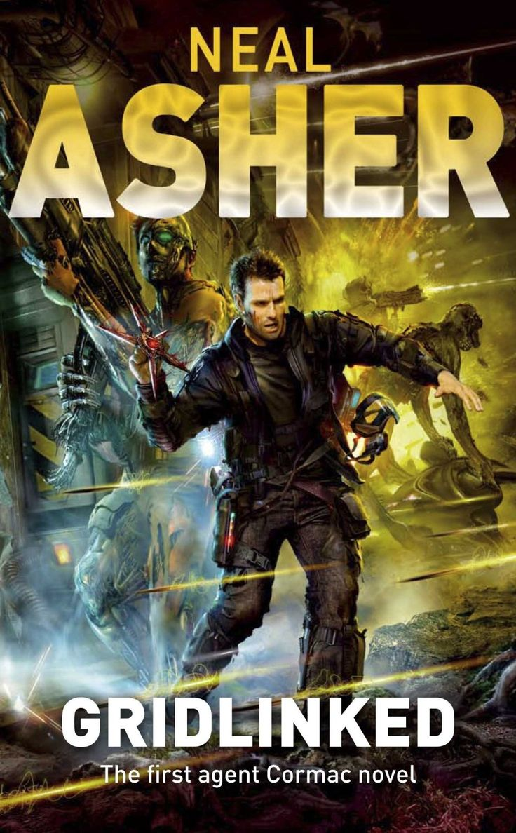 Gridlinked by Neal Asher Sci fi books, Novels, Books
