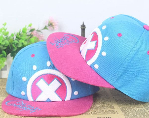 One Piece Tony Chopper Girls Snapback Baseball Anime Hat - OtakuForest.com