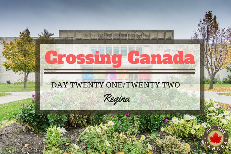 For 30 days, Kate & Adam will go coast-to-coast from Prince Edward Island to Tofino. Day 21 & 22 of their journey saw them travel to around Regina.