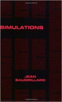 Simulations (Foreign Agents Series): Jean Baudrillard, Phil Beitchman, Paul Foss, Paul Patton: 9780936756028: Amazon.com: Books