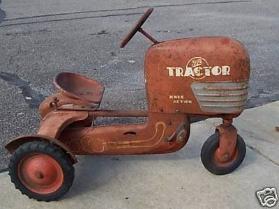 Apologise, but vintage pedal tractors