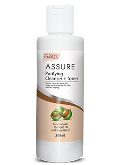 It effectively cleanses away impurities, makeup and excess oil without drying out skin. Its deep cleansing action unclog pores, removes blackheads and pollutants from the skin. Enriched with rose water and tea seed oil that helps to calm and revive the skin with freshness. It also tones the skin and make it look radiant and firm. Use daily on tired skin for a fresher and younger look.