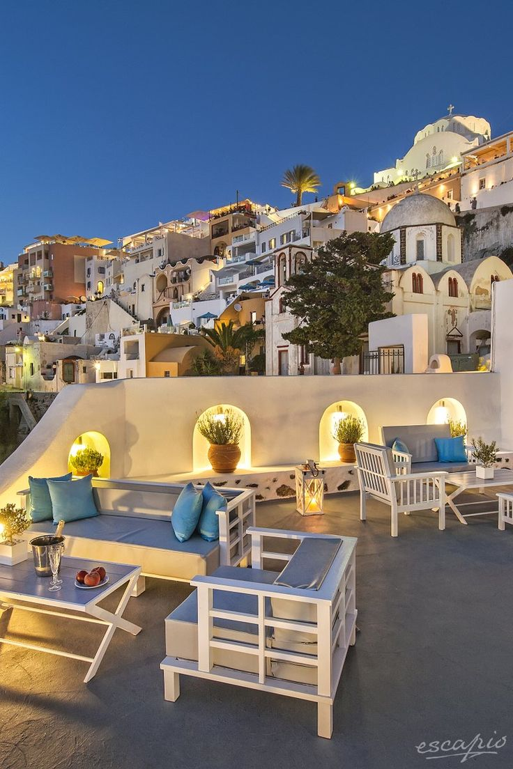Beautiful Santorini. Athina Luxury Suites.  Fira, Greece - Griechenland #greekislands #travel #bucketlist