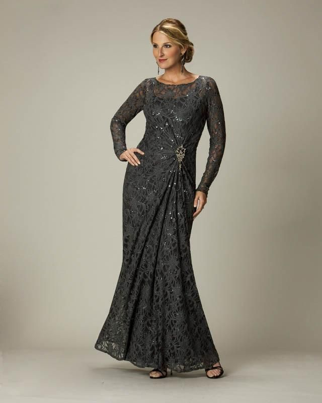 2016 New Mother Of The Bride Groom Lace Formal Gown