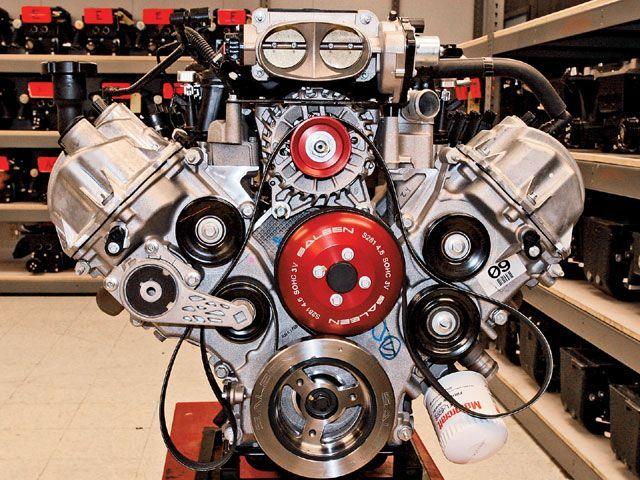 2007 Mustang Saleen Engine