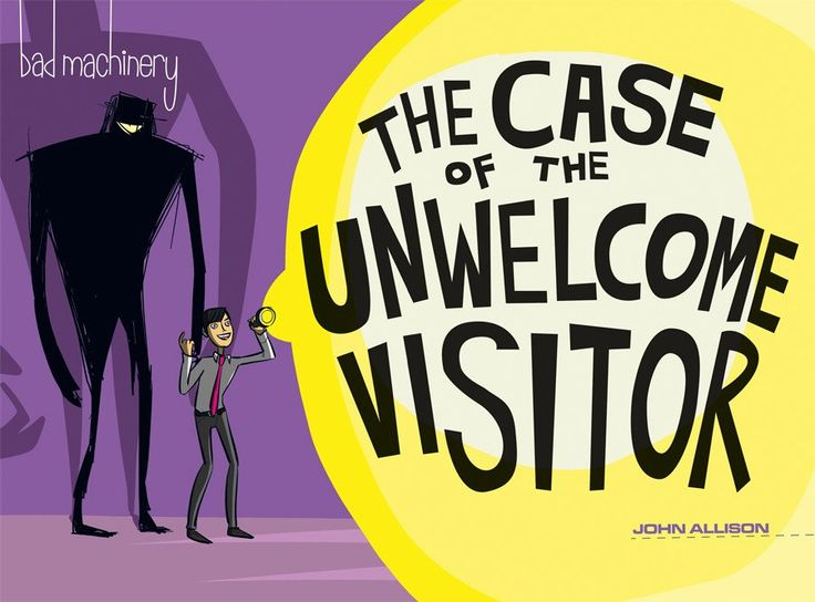 COMIC BITS ONLINE: Oni Press~Bad Machinery Volume 6: THE CASE OF THE ...