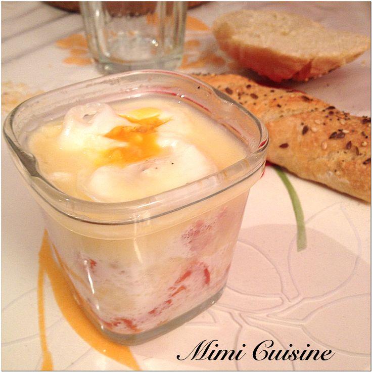 Oeuf cocotte à la cancoillotte by Multi-Délices - Mimi Cuisine