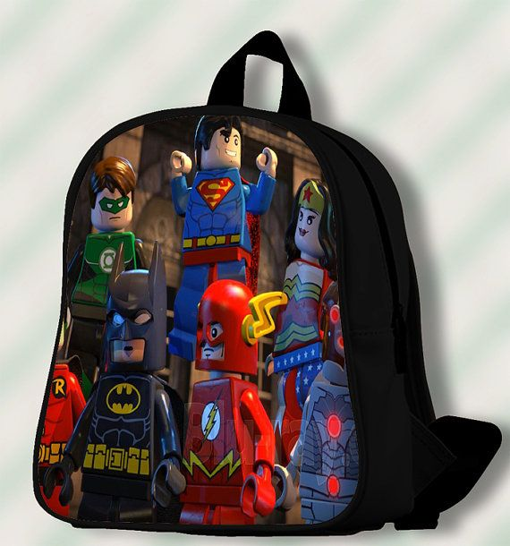 The Lego Movie avengers  Custom by SmileSchoolBags on Etsy