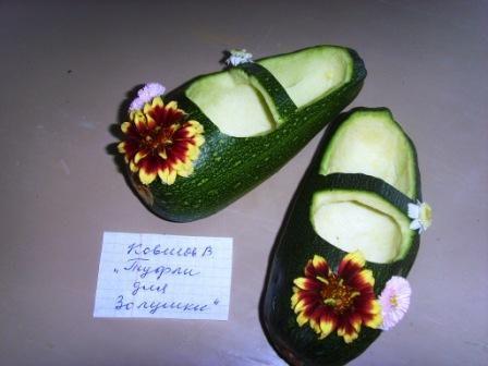 Поделки в картинках своими руками из овощей и фруктов