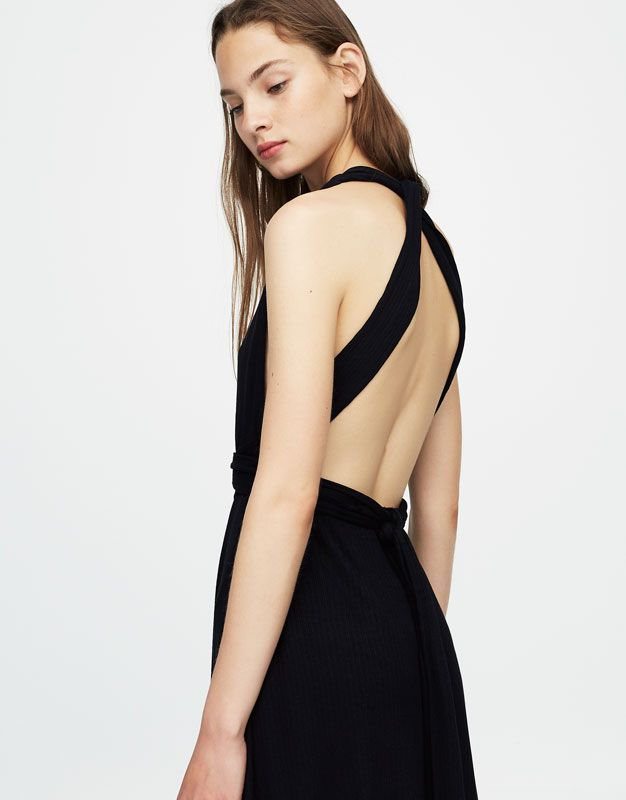 Robe multiposition - Robes - Vêtements - Femme - PULL&BEAR France