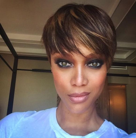 """tyra-banks Tyra said: """"I had long, golden hair as a high-fashion model, and a Victoria's Secret model and a Sports Illustrated model, and that's how people know me. But great brands tweak their logos and change up their formula, and I said it's time for me to do that."""""""