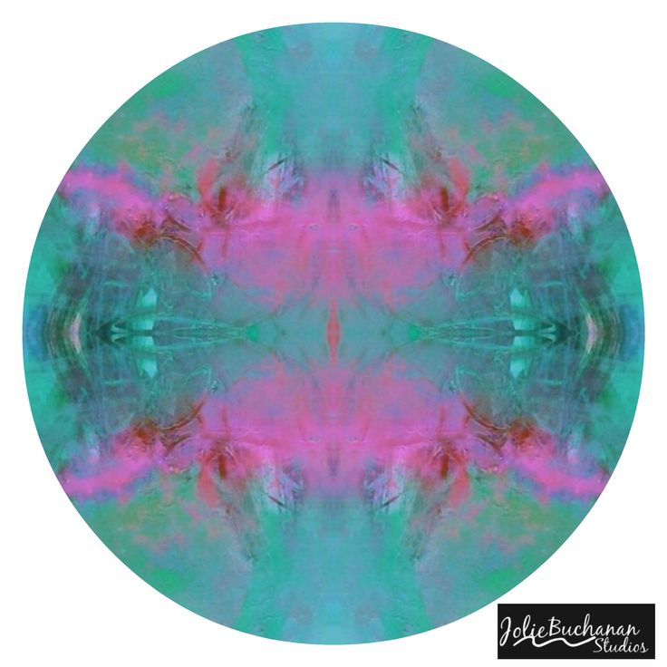 Acrylic Abstract #Mandala by Jolie Buchanan #acrylic