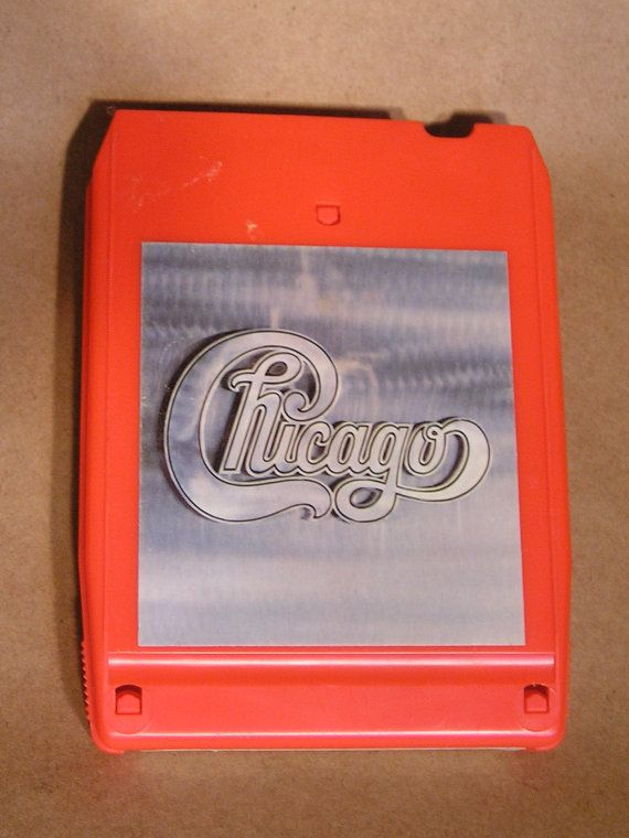 Vintage 8 Track Tape Chicago II 18 BO 0858 by AuntysTeeks on Etsy, $9.99