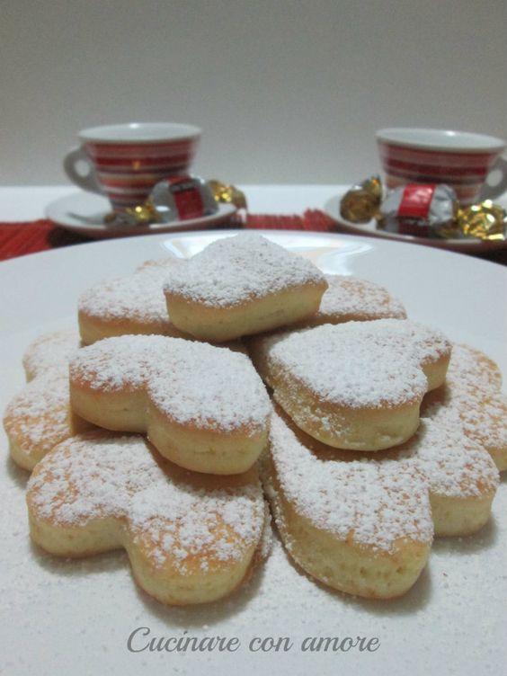 Biscotti soffici alla ricotta - Cucinare con amore