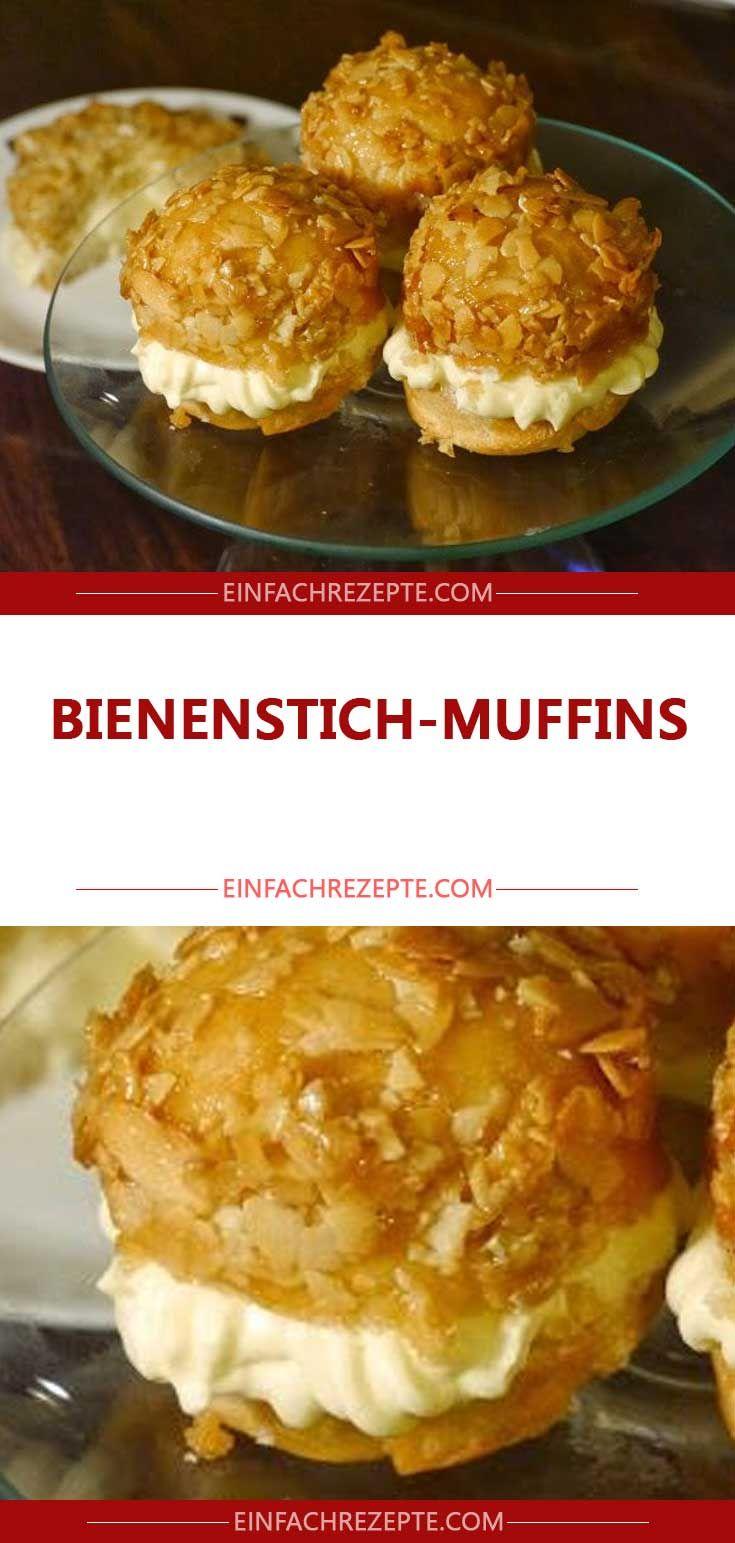 Zutaten für die Bienenstich-Muffins: Für die Man…