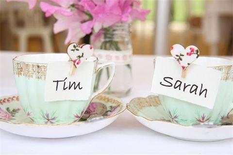 Vintage tea party | Vintage inspired wedding | Sugar Junction - Weddings
