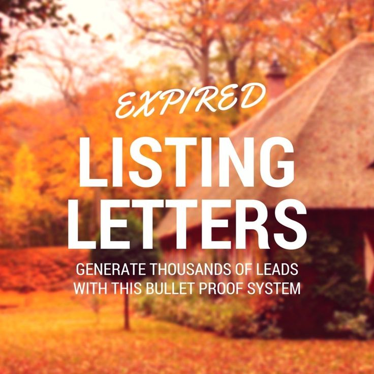 expired listing letter the best expired listing letter sample templates to use 1213