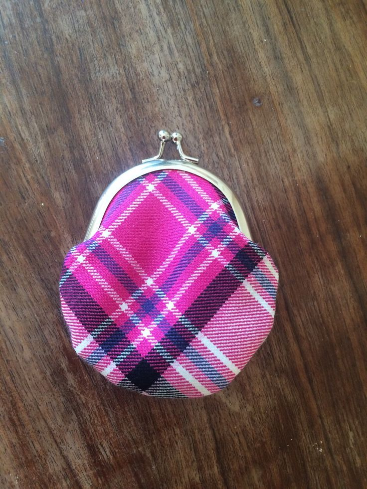 A personal favourite from my Etsy shop https://www.etsy.com/uk/listing/256497526/rapsberry-mckellar-tartan-coin-purse