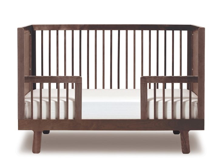 Sparrow Cot Bed in Walnut by OEUF NYC