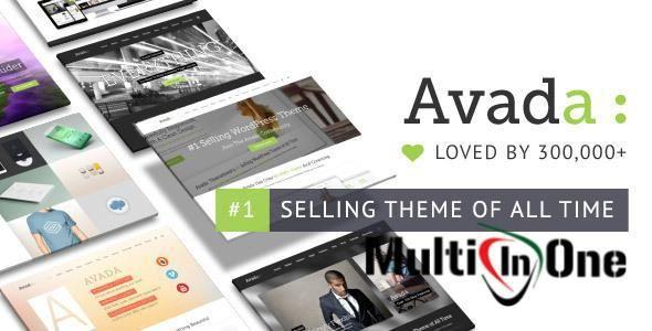 Avada v5.1.1 – Responsive Multi-Purpose WordPress Theme (Themeforest) Free Download