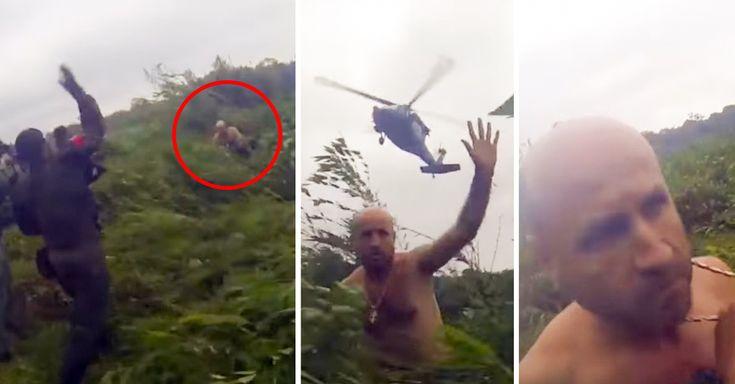 Una cámara en el casco de un militar colombiano captó el momento de la captura de Édgar Gutiérrez Arenas, uno de los capos del narco más buscados en Colombia