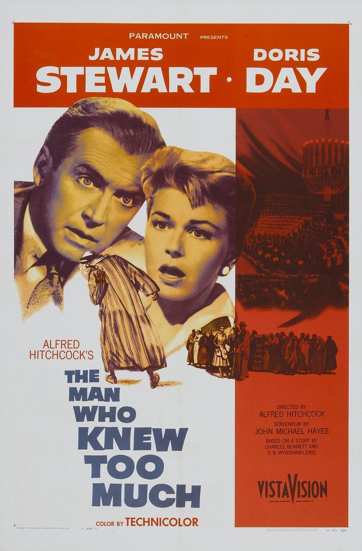 El hombre que sabía demasiado (The man who knew too much, 1956, Alfred Hitchcock)
