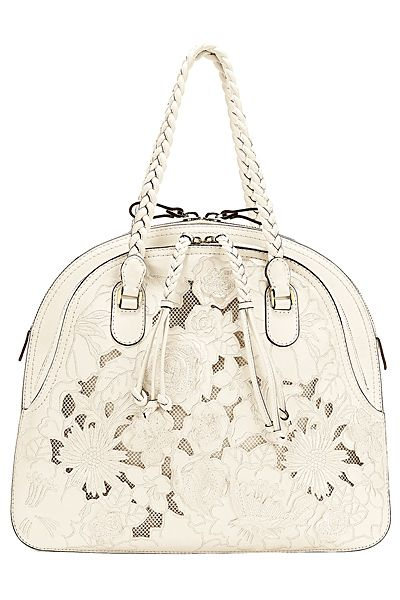 Im a little scared of white purses, but this is pretty! find more women fashion…