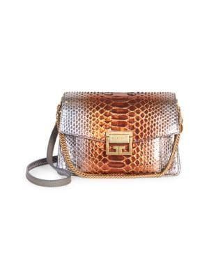 76ad0ec7bf5 GIVENCHY Antigona Mini Python Shoulder Bag.  givenchy  bags  shoulder bags   leather