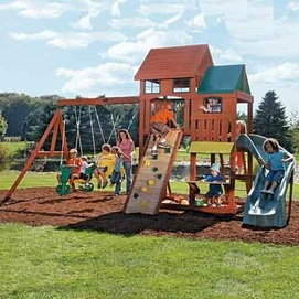 Charmant Big Backyard By Solowave® By Solowave U0027Greenbrooku0027 Wooden Play Centre