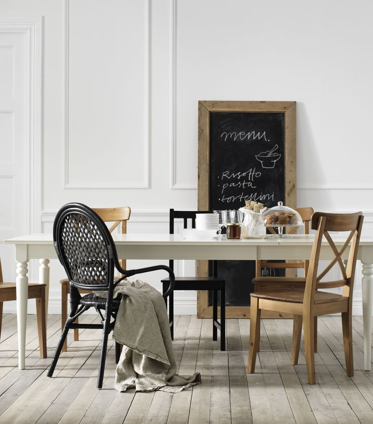 ingatorp extendable table white ikea dining roomdining room tablesikea - Dining Room Set Ikea