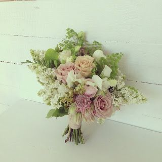 September bridal bouquet by Green & Bloom - Flowers, Props, Styling. Tamborine Mountains Wedding. Garden Bouquet.