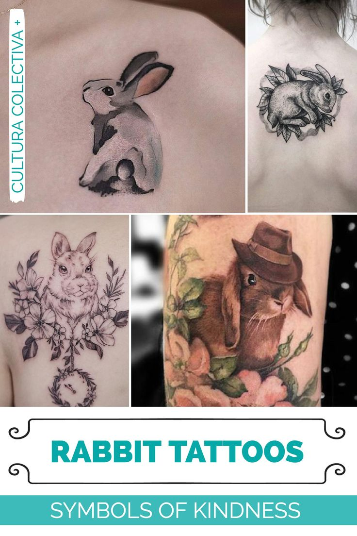 best 25 bunny tattoos ideas on pinterest white rabbit tattoo small tattoos for girls and. Black Bedroom Furniture Sets. Home Design Ideas