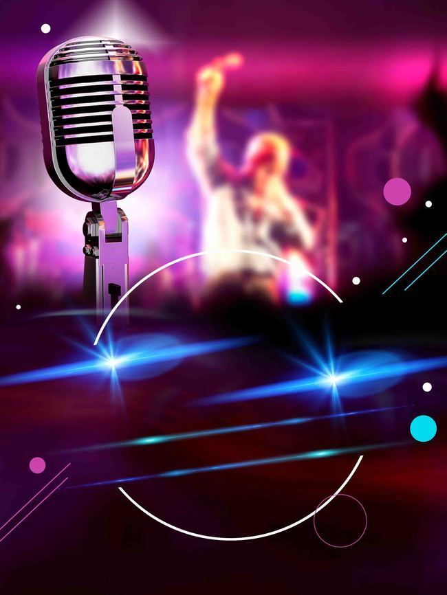 A Cool Red Bar Karaoke Party Corporate Events Microphone
