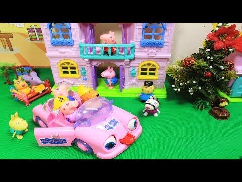 Toy City Peppa Pig Toys House Playset for Kids Full Episodes Compilation...