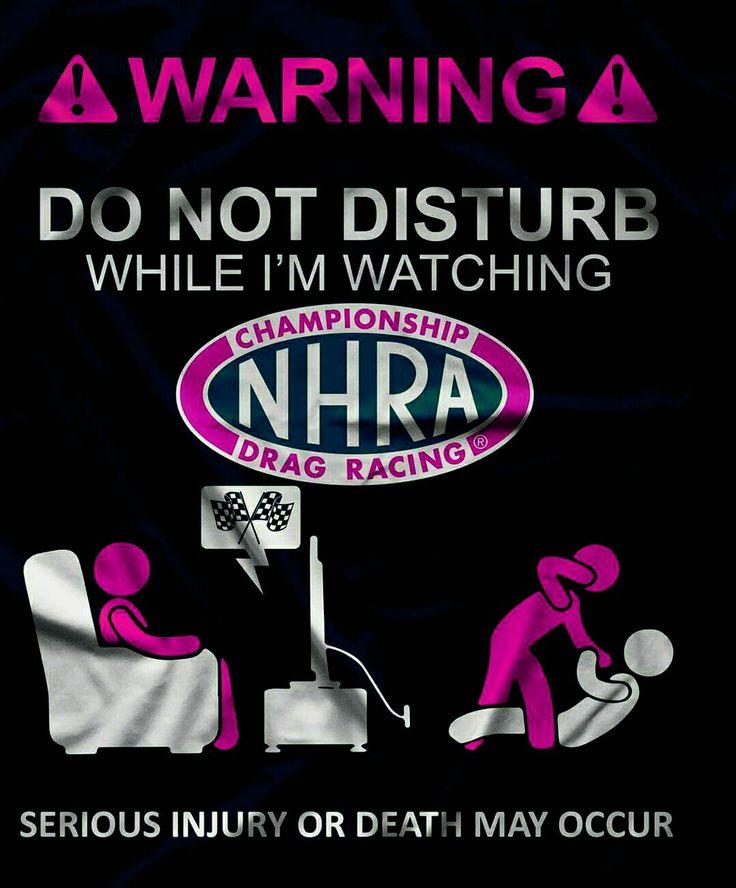 """Do Not Disturb"" NHRA Drag Racing @fasteddie"