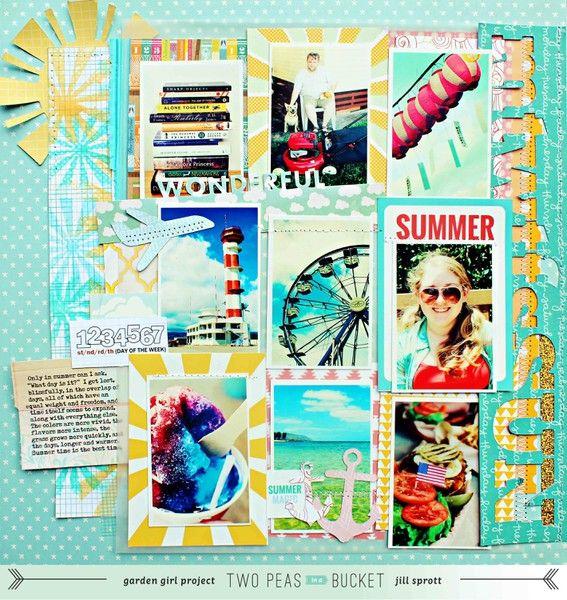 Summer Theme: MTWTFSSun by @Jill Meyers Meyers Sprott